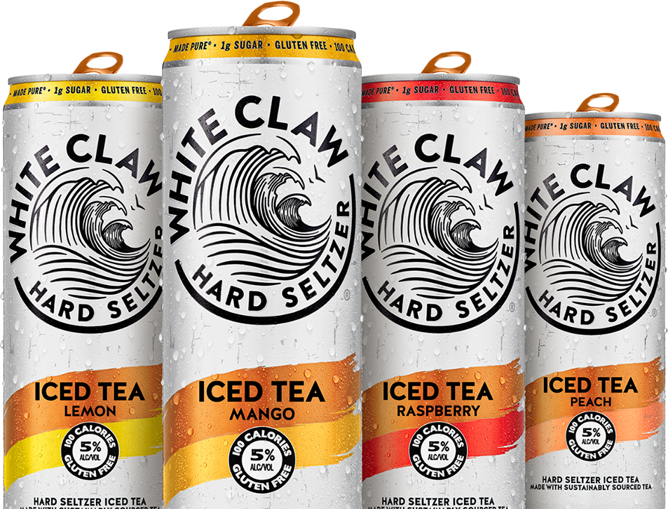 White Claw® Hard Seltzer Iced Tea
